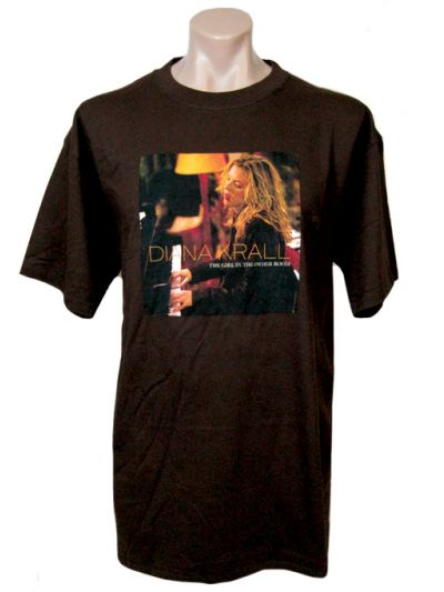 Diana Krall- Girl In The Other Room World Tour 2004/2005 Mens Short Sleeve T-Shirt